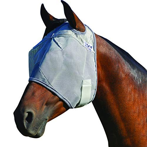 Horze Nylon Micromesh Long Nose UV Protection Fly Mask