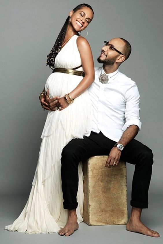 Alicia Keys has given birth to her second child