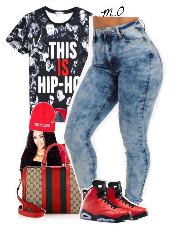 """."" by renipooh ❤ liked on Polyvore featuring Beats by Dr. Dre, Gucci, Married to the Mob and Retrò"