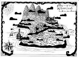 Resultado de imagen de peter pan map