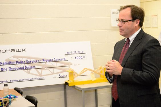 Cheque Presentation to the Hamilton Police Services - Project - Service Forms In Pdf