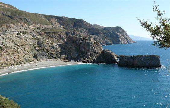Die 10 besten #Badestrände in #Andalusien. Playa de la Rijana, Costa Tropical.