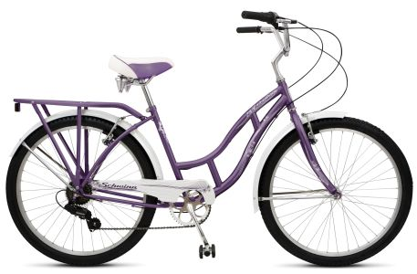 I have re-discovered bike riding after 30 years and describe it as a feeling of freedom and flight when I ride around town.  With my new bike I will ride to Tim Hortons for coffee and a Timbit, to Krogers for a few groceries, or to the Sunday night summer concerts.  I just got a Schwinn Lakeshore Beach Cruiser in purple and white - with a bell and drinkholder and basket! :)
