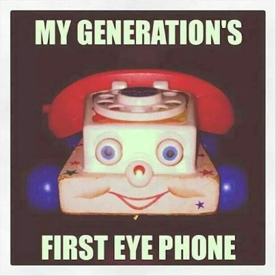 First Eye Phone!