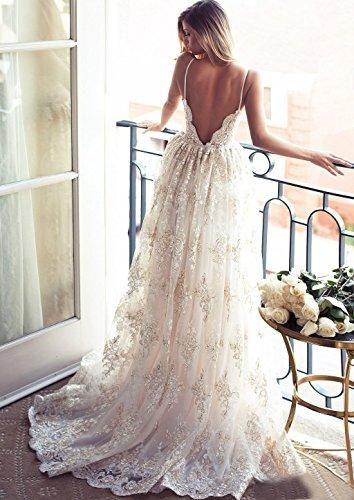 Lace Bohemian Style Wedding Dresses