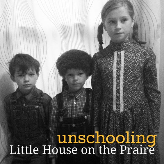 """mamascout: unschooling little house on the prairie """"The beauty of this type of learning is how it organically flows through our life. The Little House thread will weave in and out of our days until they have learned all they need to from it. And then another thread will become more prominent - but they are all always there, making up a rich and strong fabric of wonder and exploration."""""""