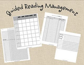 Guided Reading Management forms