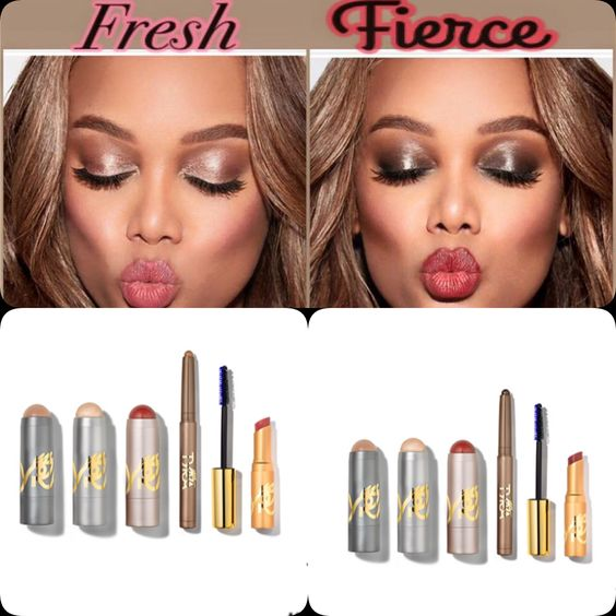 5 products, 5 steps, 5 minutes to fierce! #makeuplover #tyrabeauty #tyovers