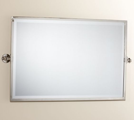 kensington pivot mirror large wide rectangle 16358