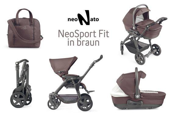 Der vielseitige Allrounder von NeoNato, Kinderwagen NeoSport Fit für alle sportlichen Eltern