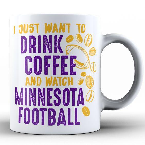Coffee & Minnesota Football Mug