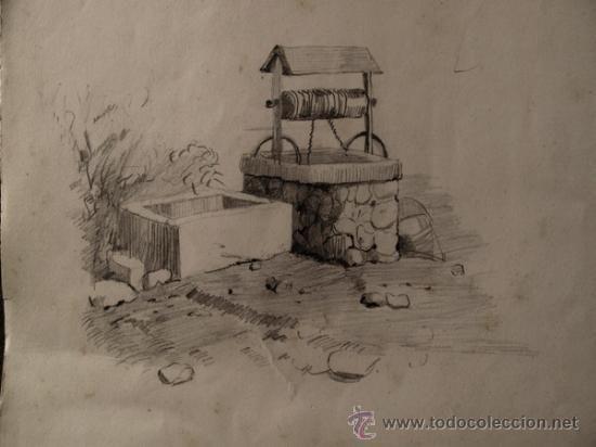 Dibujos De Paisajes Rurales A Lapiz Imagui Art Painting Types Of Art