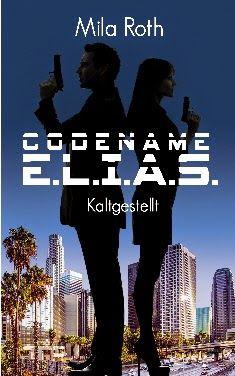 """Ab heute ganz neu und zum Angebotspreis für nur 0,99 €! E.L.I.A.S. ist die neue Romanreihe in Serienformat aus der Feder von Mila Roth, die bereits mit """"Spionin wider Willen"""" gezeigt hat, dass sie es perfekt versteht, die Leser in romantische, gleichzeitig aber auch spannende Momente zu verwickeln."""