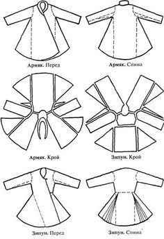 sewing pattern for russian shirt - Google Search