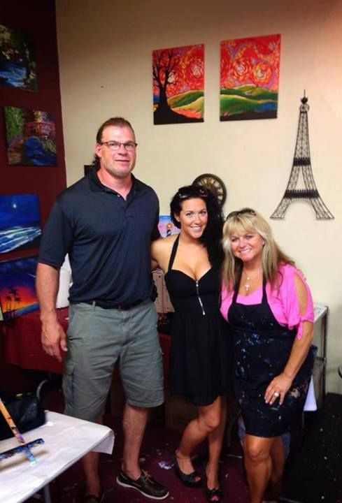 Kane with his family : Wrestlers-past, present, future ...