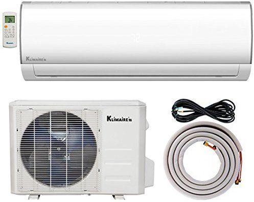 Amazon Com Klimaire Ksif012 H115 S 12 000 Btu 16 Seer Ductless Mini Split Inverter Air Conditioner Heat Pump Sys Heat Pump System Ductless Mini Split Ductless