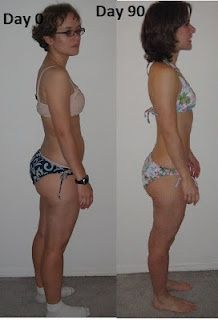 My #p90x results! It really works! #exercise #loseweight #fitness getting-in-shape