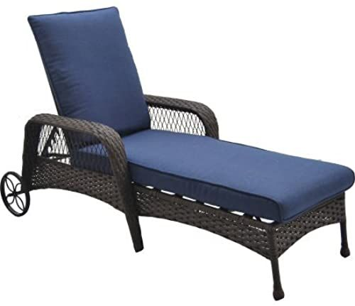 Better Homes And Gardens Colebrook Outdoor Chaise Lounge