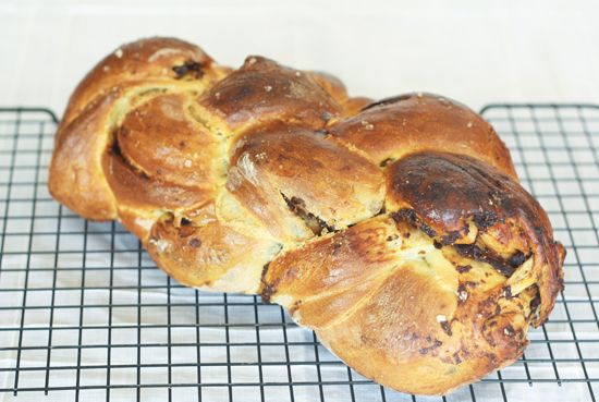 Fig, Olive Oil, and Sea Salt Challah, perfect for Tu B ...