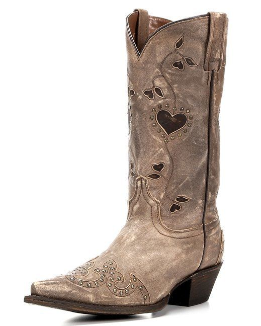Eight Second Angel Women's Laura Beth Boot - Distressed Luggage