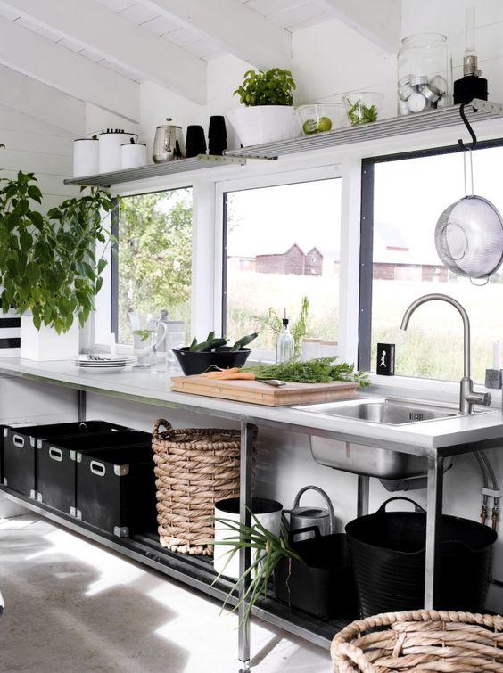 ステンレス キッチン フレーム オールステンレス イメージ