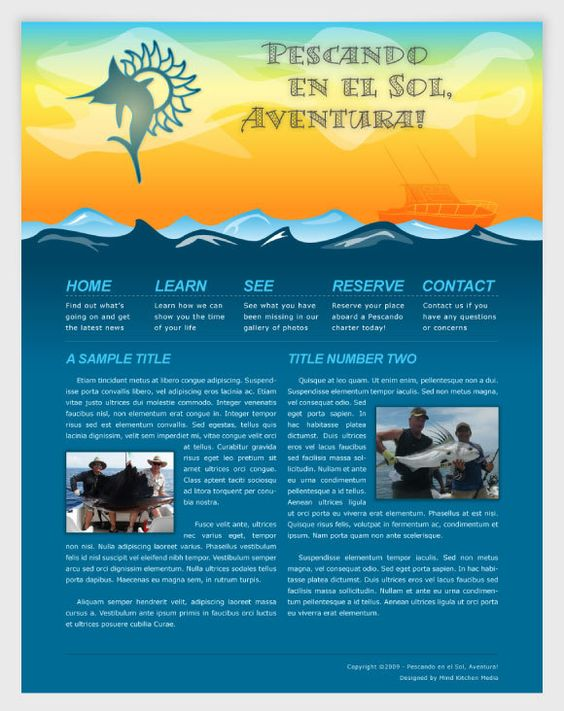 We outfitted Pescando en el Sol, Aventura! with a full branding package including a stylish logo, website and apparel designs.