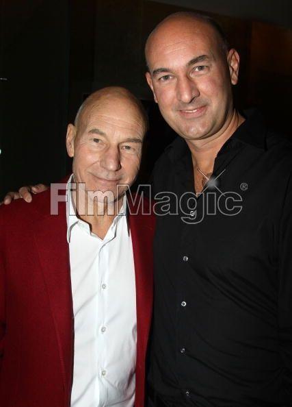 Patrick Stewart and son Daniel...