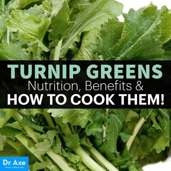 Turnip Greens Nutrition Benefits & How to Cook! - Dr. Axe