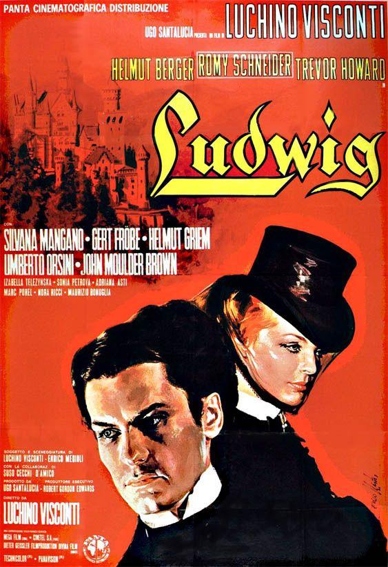 Ludwig 1973 Romy Schneider Luchino Visconti Movie Artwork