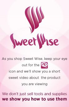 Want to know what you need to decorate fabulous cakes? This company also shows you how to use it. Sweetwise.com rocks!!!
