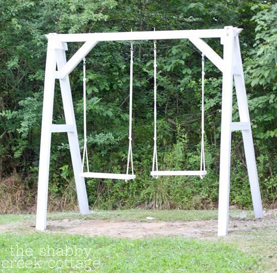 Diy A Frame Swing Set Plans Elegant 300 Best Diy Outdoor Structures Pinterest 28 Luxury Diy Swing Set Plans Inspiration In 2020 Swing Set Diy Diy Swing Wooden Swings