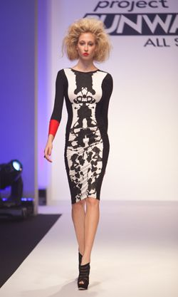 i would die for this dress.  mondo - project runway all stars