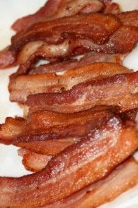 Bringing Home the Bacon: America loves bacon. Today, there are numerous ways (beyond frying it up in a pan) that you can build a business around bacon. Bacon vodka, anyone?