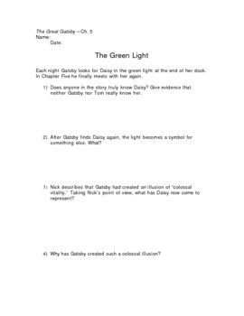 Printables The Great Gatsby Worksheets worksheets for great gatsby worksheet the call of wild research project yukon expedition megan