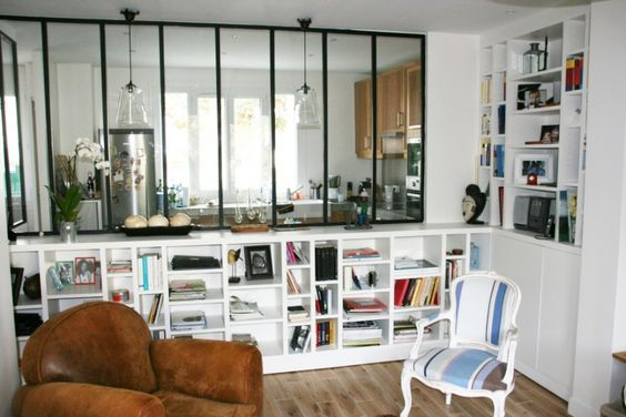Atelier salons and passion on pinterest - Deco verriere interieure ...