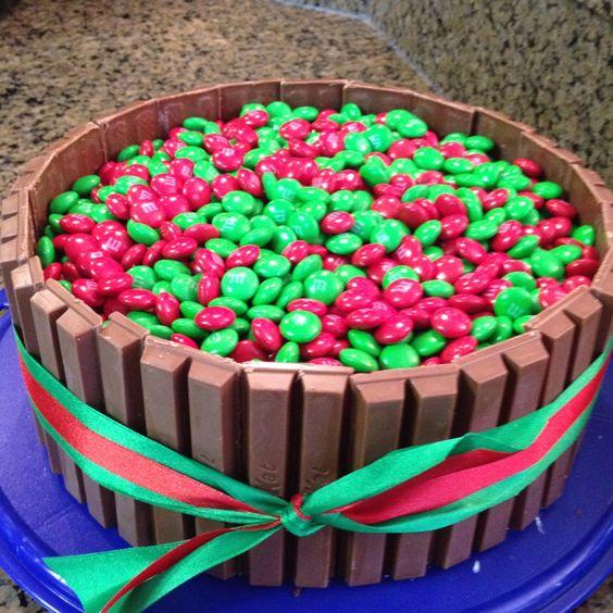 Christmas Kit Kat cake: Christmas Food, Kit Kat Cakes, Lekkere Dingen, Cake Ideas, Cakes Yummy, Christmas Cake, Christmas Ideas, Birthday Cakes