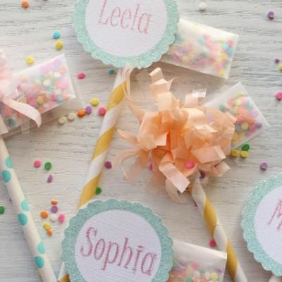 Bj S Cake Decoration Packet : Sprinkle Packet Cupcake Toppers {party things} Sprinkle ...