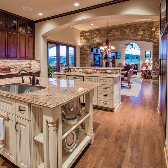 Luxury Home Kitchens: Caves, Bee Cave And Spanish On Pinterest