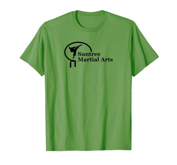 Amazon.com: Suntree Martial Arts Casual Wear T-shirt with Black Logo: Clothing