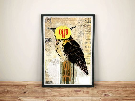 owl by Zdravkony on Etsy