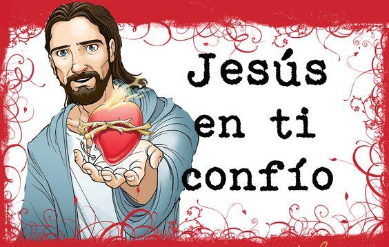 Sagrado Corazón en ti confio