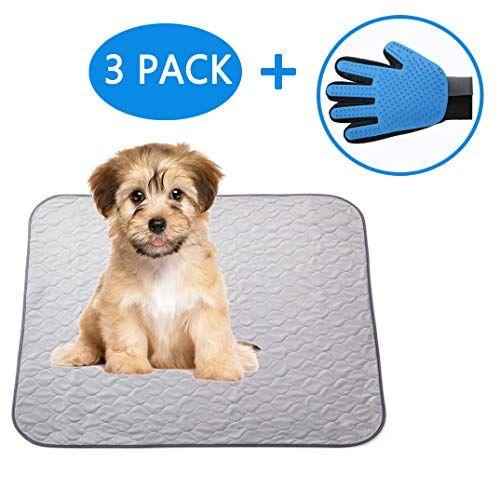Paw Jamboree Washable Pee Pads For Dogs 2 Large 1 Travel Dog