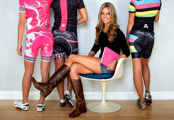 Betty Designs cycling kits - most stylish cycling clothes for women!!