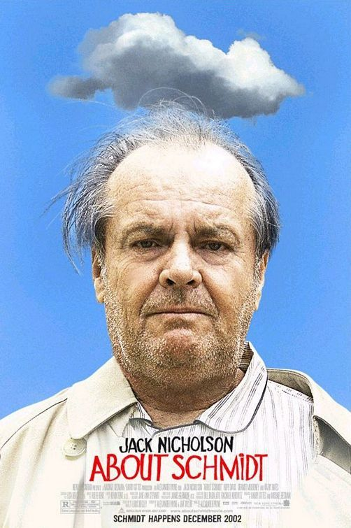 About Schmidt, 2002.  Poster design by New Wave Creative.