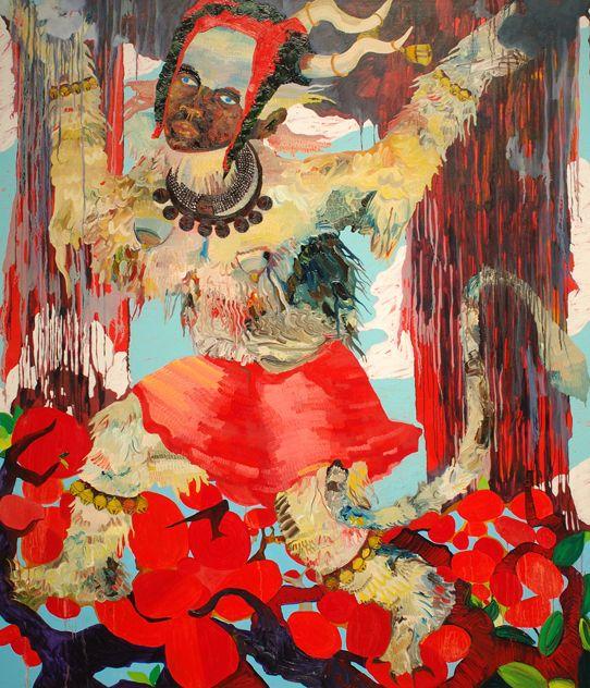 Mequitta Ahuja,  Boogie Woogie, 2005.