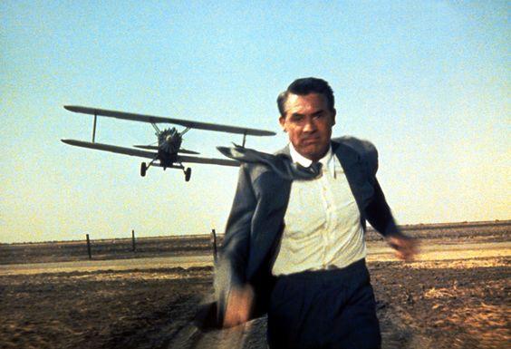 Cary Grant a la Mort au trousses dans le chef d'oeuvre d'Alfred Hitchcock