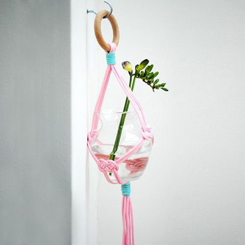 How to Braid a Hanging Vase Holder -- via wikiHow.com