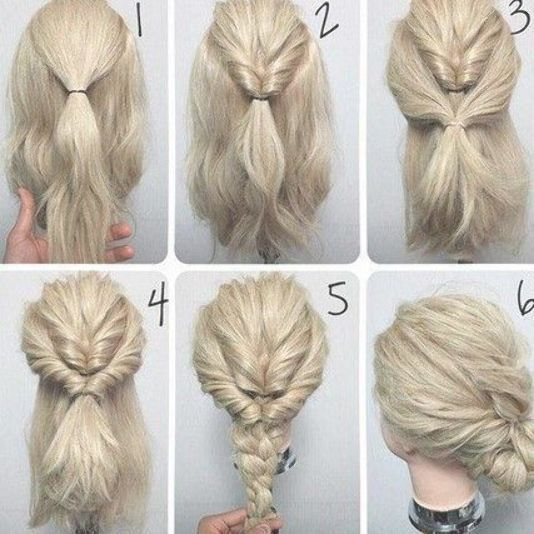 Cute Fast Simple Hairstyles Hairstyles Hair Ponytail Andfast Coole Frisuren Hair Tutorials Easy Simple Wedding Hairstyles Easy Hairstyles