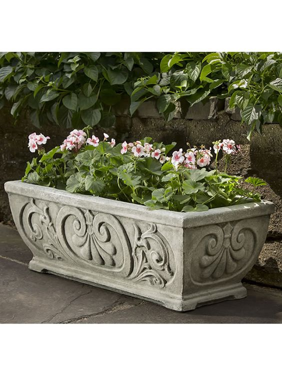 Vintage Hayward Window Box - Garden Fountains & Outdoor Decor