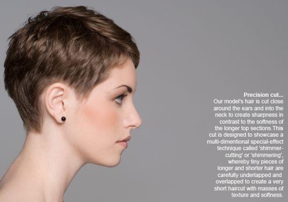 Short  Haircut  Makeover  Model Makeovers  Short  Sweet